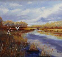 River Marsh by katherine rohnert