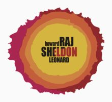 big bang theory - sheldon raj howard leonard by anjafreak