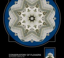 THE CONSERVATORY OF FLOWERS, SAN FRANCISCO by PhotoIMAGINED