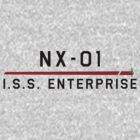 ST Registry Series - NX Mirror Enterprise Large Logo by Christopher Bunye