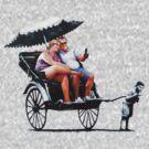 Banksy - Rickshaw by stabilitees