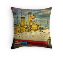 The Cruiser Olympia Throw Pillow