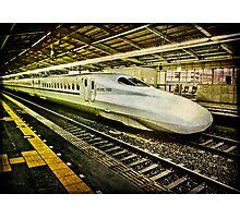 Shin-Kobe Shinkansen Photographic Print