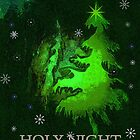 HOLY NIGHT CARD by Esperanza Gallego