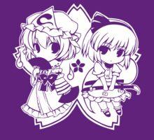 Touhou - Yuyuko & Youmu by DaKirbyDood