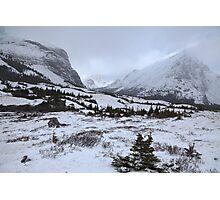 Elbow Pass valley IV Photographic Print