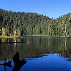 "Blue Lake ""Indian Heaven"" Wilderness  by Don Siebel"