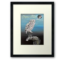 French Christmas Little Owl Framed Print