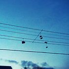 walking on a tightrope by jfpictures