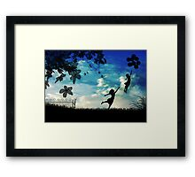 Take me with you (2) - Series Framed Print
