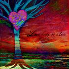 Love hung on a tree by Suzanne  Carter