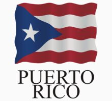 Puerto Rican flag by stuwdamdorp