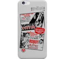 B Movie Double Bill iPhone Case/Skin