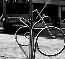 Abstract - Faster by Bike by AmandaJanePhoto