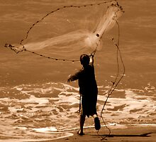 Life Is A Beach : Catch Of The Day by artisandelimage