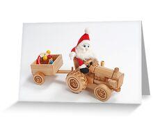 Christmas driver Greeting Card