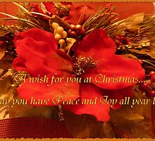 A wish for you at Christmas.... by Vickie Emms