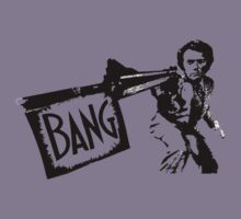 "Dirty Harry ""BANG!"" Street Art by dashiner"