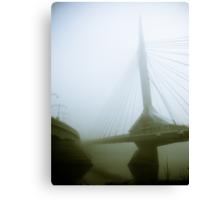 Foggy Waterfront 03 Canvas Print