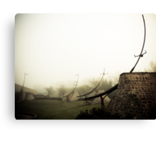 Foggy Waterfront 06 Canvas Print