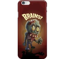 Retro Zombie iPhone Case/Skin