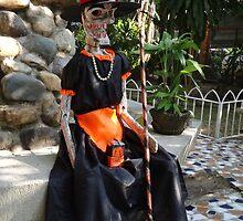 Happy Halloween in Puerto Vallarta by Bernhard Matejka
