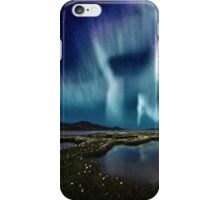 Aurora over Sweden iPhone Case/Skin