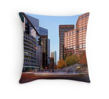 Off Broadway Throw Pillow