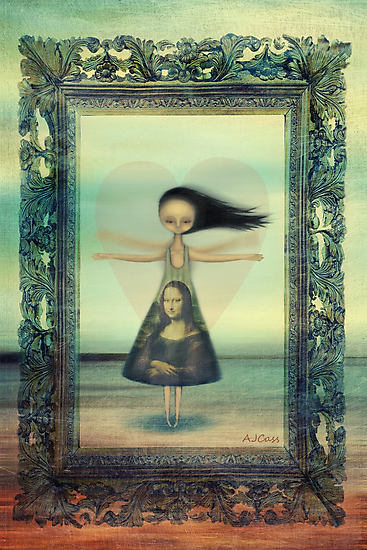 your'e a work of heART by Amanda  Cass
