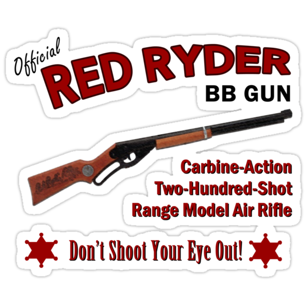 Red Ryder BB Gun by waywardtees