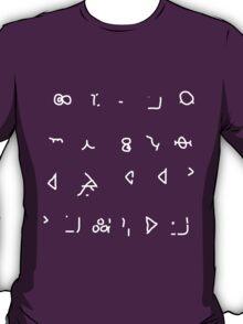 Hello Sweetie (Old High Gallifreyan) T-Shirt