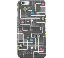Return Of The Retro Video Games Circuit Board iPhone Case/Skin