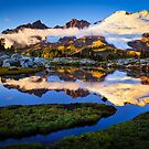 Mount Baker Sunset by Inge Johnsson
