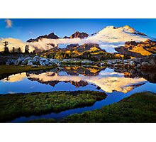 Mount Baker Sunset Photographic Print
