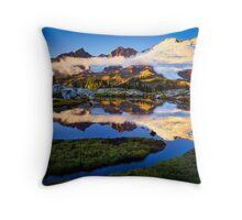 Mount Baker Sunset Throw Pillow