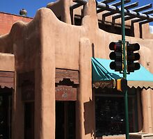 Santa Fe Adobe Shop by Frank Romeo