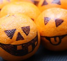 Halloween Baby Pumpkin Fruit by Sammy Nuttall