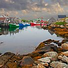 PEGGYS COVE by Raoul Madden