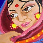 Hindu Woman  by Almonda