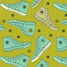 Doodle Ked Shoes by Anastasiia Kucherenko