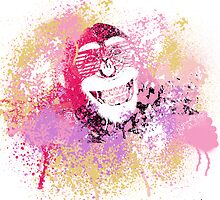 Cool Monkey graffiti Street Art by dashiner