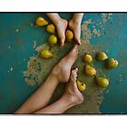 Pears and Feet by maryanne gobble