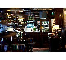 Dutch Bistro Bar Photographic Print