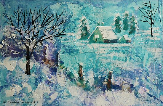 Snow scene 2 by © Pauline Wherrell