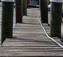 Menemsha Boardwalk by phil decocco