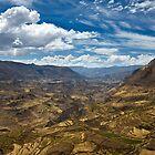 Colca Vista, Colca Valley, Peru by strangelight