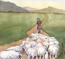 Follow Me (sheep series 2) by Marsha Elliott