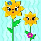 Cute Sunflower Friends by TheBluePlanet