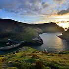 Cornwall: October Sunset at Boscastle by Rob Parsons