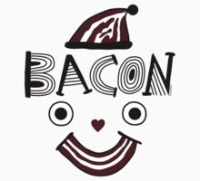 Bacon Face by Andi Bird